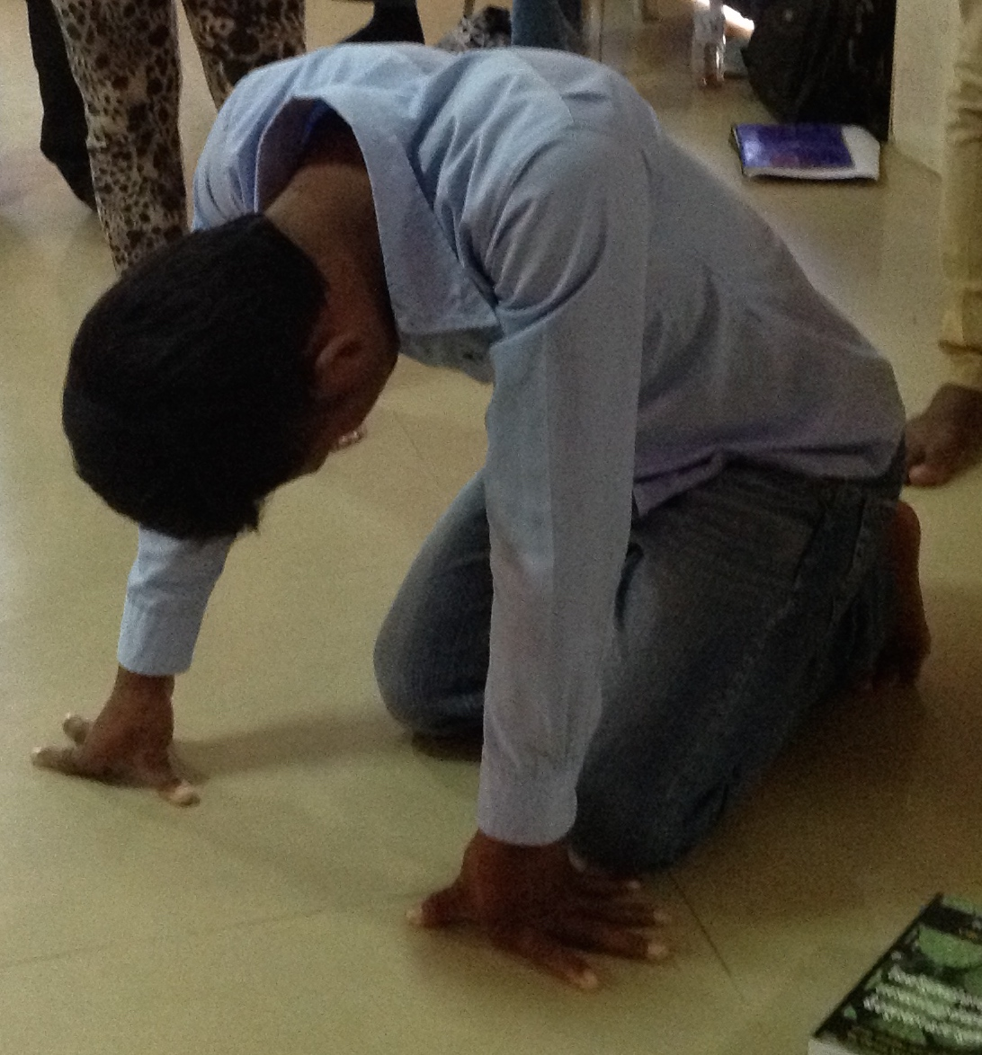 Cambodian Boy Praying