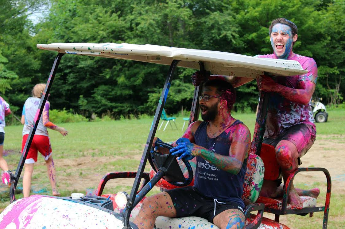Paint Wars at Epic Camp